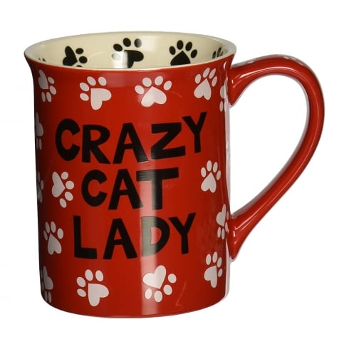 Our Name Is Mud Crazy Cat Lady Mug