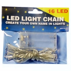 Create Your Name In Lights - LED 16 Light Chain