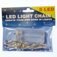 Create Your Name In Lights - LED 8 Light Chain