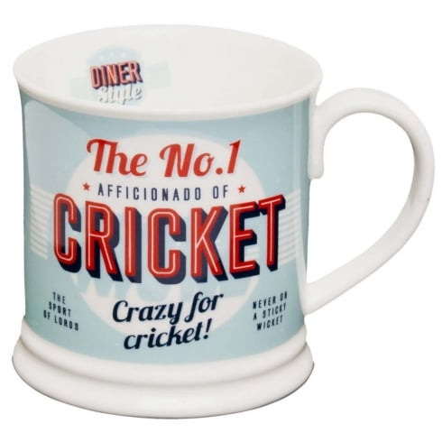 Diner Style Mugs Cricket