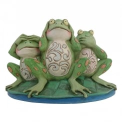 Croak No Evil Frogs