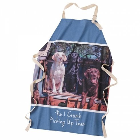 Border Fine Arts Crumb Picking Up Team Apron