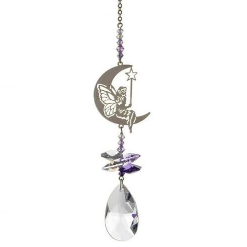 Wild Things Gifts Crystal Fantasy Fairy With Wand Purple