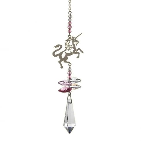 Wild Things Gifts Crystal Fantasy Unicorn Pink