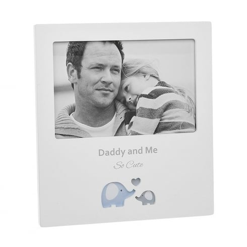 Shudehill Giftware Cut Out Daddy & Me 6 x 4 Photo Frame
