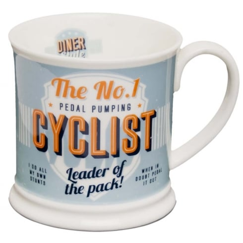 Diner Style Mugs Cyclist