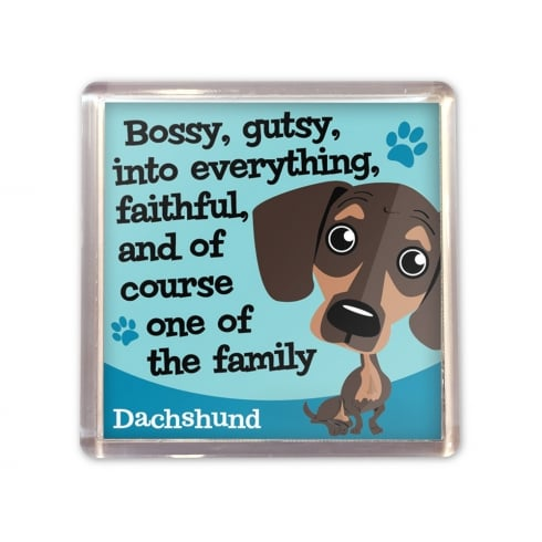 Wags & Whiskers Dachshund Magnet