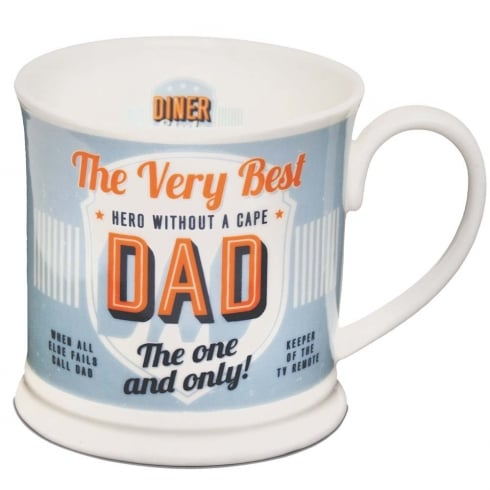 Diner Style Mugs Dad