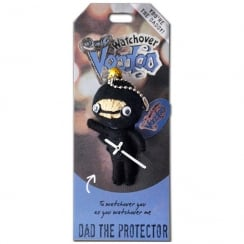 Dad The Protector Voodoo Keyring