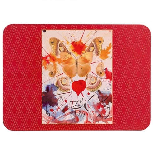 Enesco Dali Butterfly Place Mats (Set of 4)