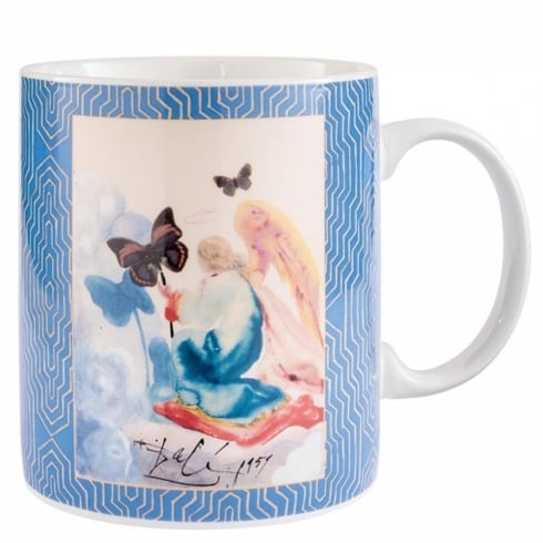 Enesco Dali Kneeling Woman Mug