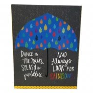 Dance In The Rain Pocket Notepad & Pen
