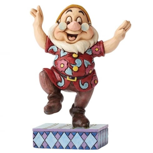 Disney Traditions Dancing Doc Figurine