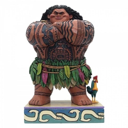 Disney Traditions Daring Demigod Maui Figurine