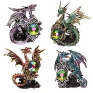 Dark Legends Crystal Shield Dragon Assorted