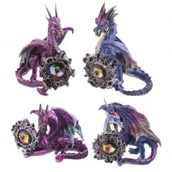 Dark Legends Gemstone Frame Dragon