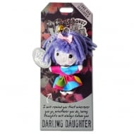Darling Daughter Voodoo Keyring