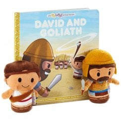 David and Goliath Plush and Storybook Set US Edition