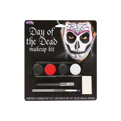 Wicked Costumes Day Of The Dead Makeup Kit