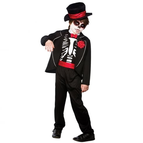 Wicked Costumes Day Of The Dead Zombie (5-7) Medium