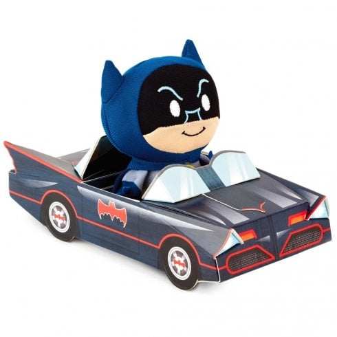 Hallmark Itty Bittys DC Comics Batman in Batmobile Stuffed Animal Special Edition