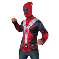 Deadpool Costume Top Std