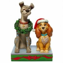 Decked Out Dogs Lady and the Tramp Figurine