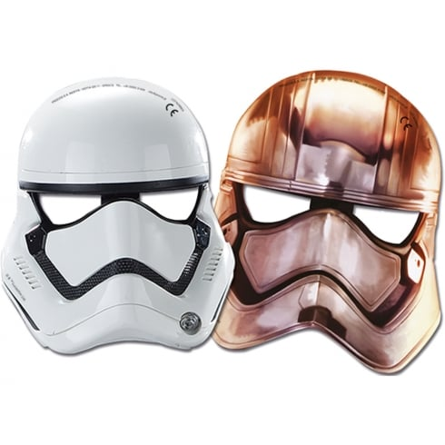 Decorata Party 6 Pack of Masks Star Wars The Force Awakens