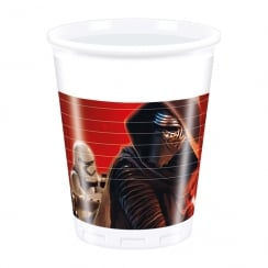 Decorata Party 8 Pack of Plastic Cups Star Wars The Force Awakens