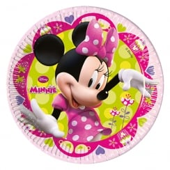 Decorata Party Disney Minnie Mouse Paper Plates 23cm