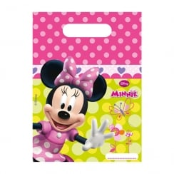 Decorata Party Disney Minnie Mouse Party Bags 6 Pack
