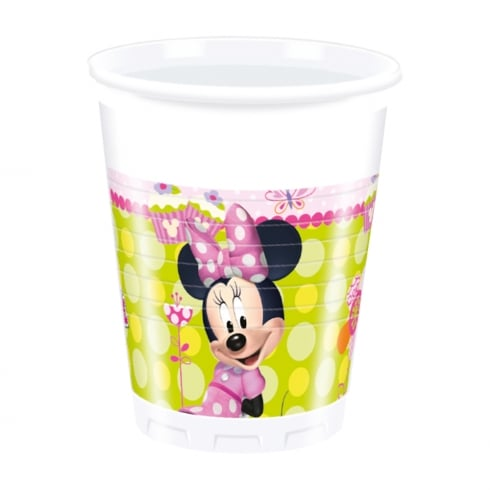 Decorata Party Disney Minnie Mouse Plastic Cups 8 Pack