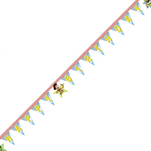 Decorata Party Disney Pixar Toy Story Letter Banner 2.12m