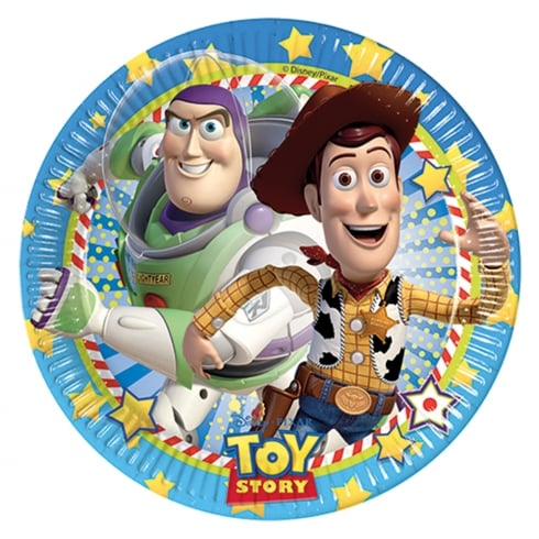Decorata Party Disney Pixar Toy Story Paper Plates 23cm 8 Pack