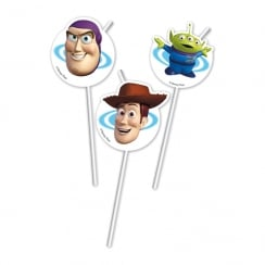 Decorata Party Disney Pixar Toy Story Straws 6 Pack