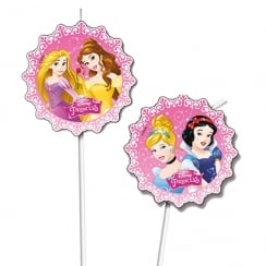 Decorata Party Disney Princess Drinking Straws 6 Pack