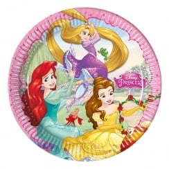 Decorata Party Disney Princess Party Plates 8 Pack
