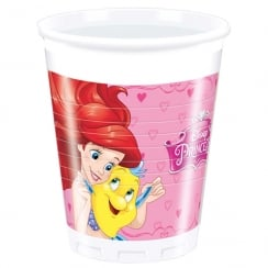 Decorata Party Disney Princess Plastic Party Cups 8 Pack