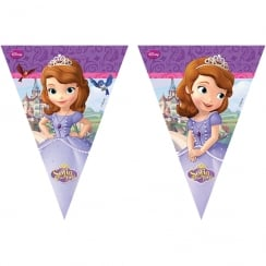 Decorata Party Disney Sofia the First Flag Banner 2.3m