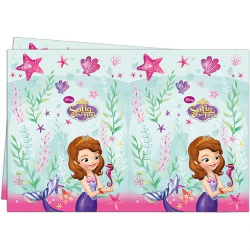 Decorata Party Disney Sofia the First Table Cover 6 Pack