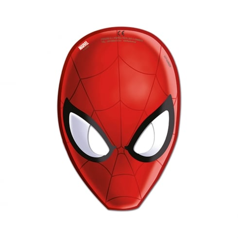 Decorata Party Marvel Masks Ultimate Spider-man 6 Pack