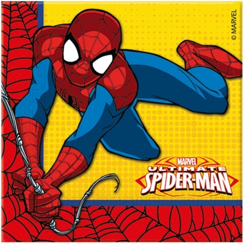 Decorata Party Marvel Napkins Ultimate Spider-man