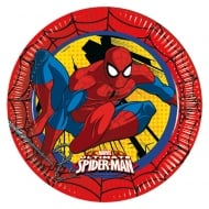 Decorata Party Marvel Paper Plates Utlimate Spider-man 8 Pack