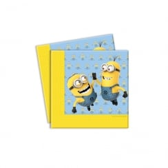 Decorata Party Minions 20pk of 2ply Napkins