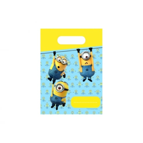 Decorata Party Minions 6pk of Party Bags