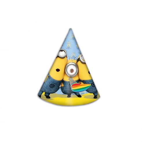 Decorata Party Minions 6pk of Party Hats