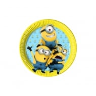 Decorata Party Minions 8pk of Paper Plates