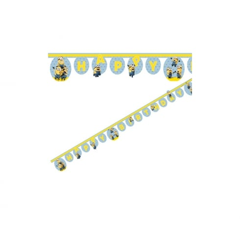 Decorata Party Minions Paper Letter Banner