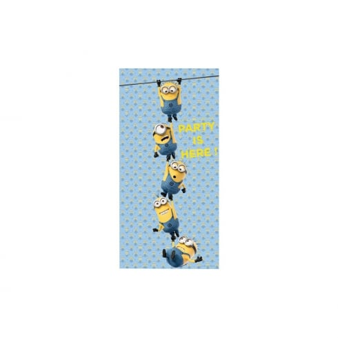 Decorata Party Minions Plastic Door Banner 75 x 150cm