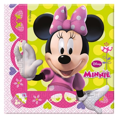 Decorata Party Napkins Disney Minnie Mouse 20 Pack